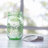 Green (Heritage) Mason jar